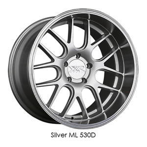 Xxr Wheels Rim 530d 19x9 5x114 3 Et35 73 1cb Silver Ml