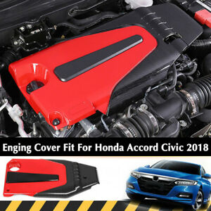 Engine Protector Cover Bonnet Hood Accessory Fit For Honda Accord 10th 2018 1 5t