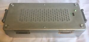 Aesculap Sterilization Container W Mini Size Basket Jf159r And Jm174