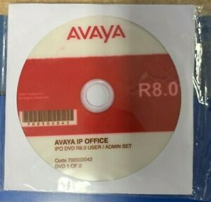 Avaya Ip Office 500 R8 0 700502042 Dvd User And Administration Set