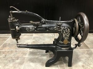 Antique Singer 12160999 Arm Leather Patcher Sewing Machine Antique Industrial