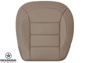 2013 Mercedes Benz Ml350 Driver Side Bottom Perforated Leather Seat Cover Tan