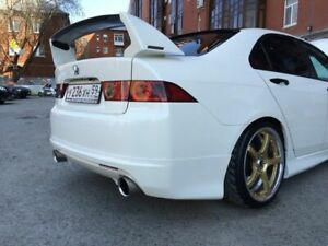 Rear Mugen Style Spoiler Wing For Honda Accord 7 Vii Acura Tsx Cl7 Cl9 03 08