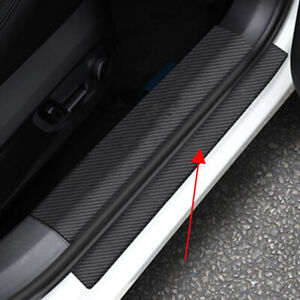 For Toyota Camry 2018 2021 Car Outside Door Sill Threshold Scuff Plates Trim
