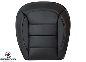2012 2015 Mercedes Ml 350 Benz Ml350 Driver Side Bottom Leather Seat Cover Black