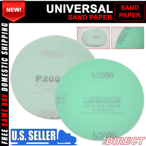 X10 Wet Dry Auto Sanding Disc Body Repair Sand Paper Sheet 2000 Grit 5 Inch