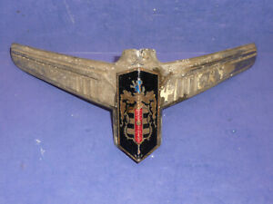1941 Dodge Luxury Liner Hood Ornament Emblem Ct24