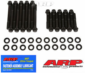 Arp 154 3701 Cylinder Head Bolts High Performance 12 Point Ford 289 302 Wit