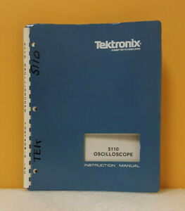Tektronix 5110 070 2134 01 Oscilloscope Instruction Manual