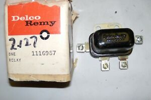 1953 1960 Buick Nos Starter Relay Gm Delco Remy 1116967 replaced 1116963