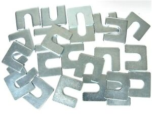 Gm Body Fender Alignment Shims 1 16 1 8 Thick 3 8 Slot 24 Shims 397t