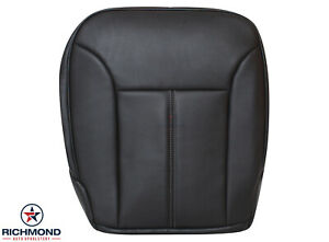 2010 2011 2012 Mercedes Benz Gl450 driver Side Bottom Leather Seat Cover Black