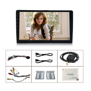 Android 9 1 Quad core 10 1 Hd Touch Screen Car Gps Navigation Wifi Radio Stereo