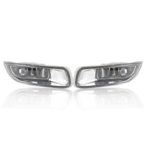 Pair Fog Light Lamp For Toyota Corolla Ce Le S 1 8l Engine 2003 2004 Clear Lens