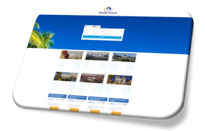 Travel Agency Website Business guaranteed free Domain hosting