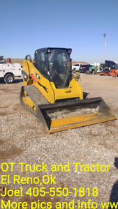 2013 Caterpillar 279c2 Ctl High Flow Cab A c Track Skid Steer Loader Used