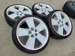 21 Chevy Camaro Ss Oem Redline 5549 Wheels Rims Tires 5547 2012 2013 2014 2015