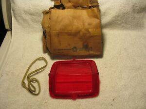 Nos Mopar 1965 Plymouth Belvedere Wagon Tail Light Lens