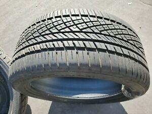 Continental Extremecontact Dws06 275 40zr19 Tire All Season Performance