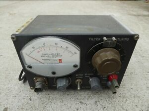General Radio 1232a Tuned Amplifier Null Detector 1232 a Gr Vintage