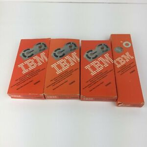Lot Of 3 Ibm High Yeild Correction Film Ribbon And 1 Box Of Lift Off Tape Nos