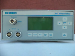 Boonton 4531 Options 1 2 30 Dual Sensor Rf Power Meter