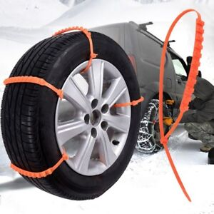 Anti Skid Chains For Automobiles Snow Mud Wheel Tyre Car Truck Tire Cable Ties