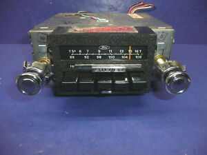 Factory Original Nos Or Take Out 1982 Ford Mustang Am Fm Stereo Radio