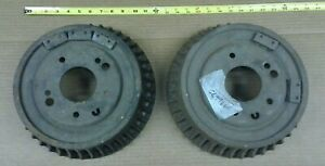 Nos Gm 68 69 70 71 72 Camaro Nova Chevelle Olds Cutlass Finned Brake Drum Pair