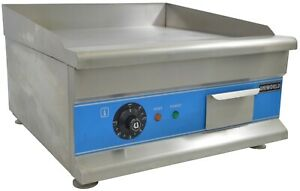 Economy 20 Electric Countertop Griddle Flat Top Grill 110v 60hz 1600 Watts