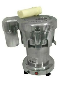 Commercial Juicer Extractor Machine Fruit Vegetable Stainless Steel Construction