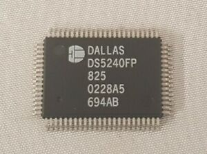 368pcs Ds5240fp 825 Dallas Semiconductor 100 Pin High speed Secure Microcontroll