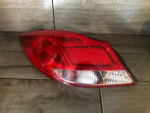 11 12 13 Buick Regal Brake Light Tail Light Lamp Left Driver Side 2011 2012 2013