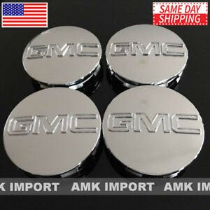4pc X Chrome Wheel Center Hub Caps For Chevy Silverado Suburban Tahoe 83mm 3 25