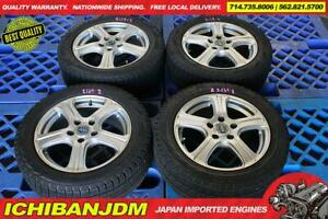 Jdm Bridgestone fielder Wheels 16x6 5 48 5x114 3 Pcd Integra Dc2 Civic 5 Lug