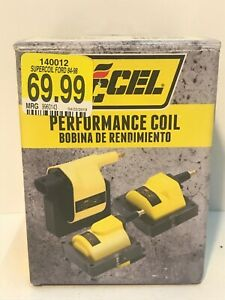 Accel 140012 Super Coil Ignition Coil 84 95 Ford Remote Mount Coil