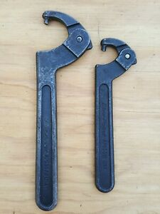Blue Point Adjustable Pin Type Spanner Wrenches Set Of 2