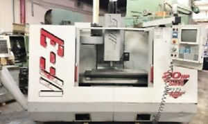 Haas vf 3 Vertical Machining Center Age 1999 See Video