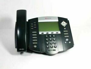 Polycom Soundpoint Ip650 Sip Phone With Stand Handset Power Supply