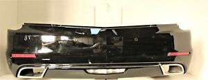 2014 2015 2016 Cadillac Cts Rear Bumper Assembly Oem Gm black