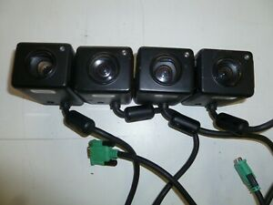 Lot Of Four Coban Police Video Cameras With Cords For Vehicle Use G225