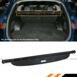 For 19 2020 Hyundai Santa Fe Sport Retractable Cargo Cover Luggage Shield Black