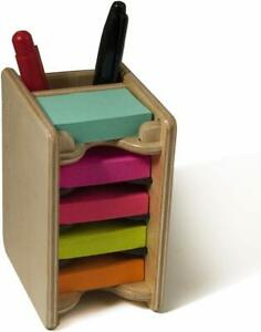 Mini Sticky Notes Pad And Pen Holder 5 Pads 1 5 x2