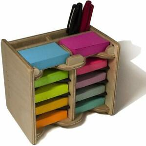 Mini Sticky Notes Pad And Pen Holder 10 Pads