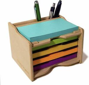 Sticky Notes Pad 3 X 5 In And Pen Holder organizer pads Not Included
