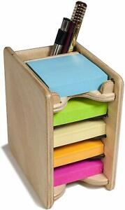 Small Sticky Notes Pad 2 X 2 And Pen Holder includes Five 2x2 In Pads