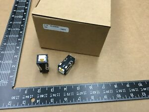 qty 1 Aml22cbm2bd honeywell 100ma 125v Dpdt Pushbutton Switch illuminated
