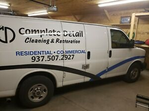 Carpet Cleaning Van With Truck Mount 2016 Prochem Apex Gxt Single Owner Unit