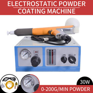 110v Powder Coating System Spraying Gun Machine Color Coating Electrostatic Us