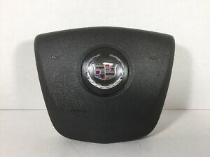 2008 2013 Cadillac Cts Steering Wheel Mounted Airbag Air Bag Oem Black